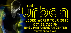 Keith Urban tickets on sale NOW