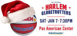 Give the gift of the Globetrotters