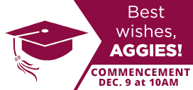 NMSU Commencement 10am December 9 at NMSU Pan American Center