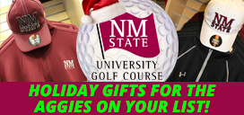 Buy Holiday gifts at the NMSU Golf Course Pro Shop