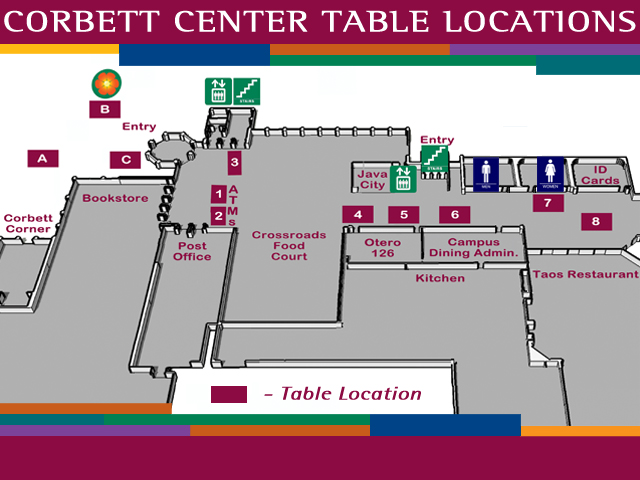 Nmsu Corbett Center Food Court