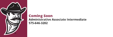 Administrative Associate Intermediate coming soon