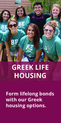 Greek Life Housing