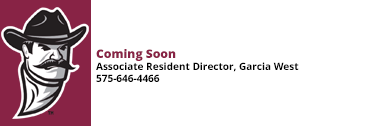 Associate Resident Director of Garcia West Coming Soon