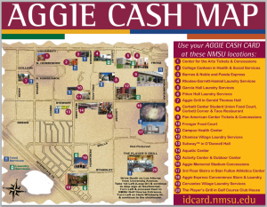 Aggie Cash Map