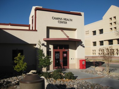 Picture of the campus helath center.