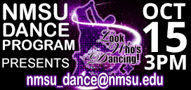 Look Who's Dancing 3pm Oct 15 at NMSU Pan American Center