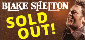 Blake Shelton is Sold Out!