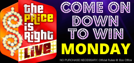 The Price is Right Live Stage Show January 22 at Pan American Center