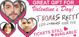 Thomas Rhett tickets make great Valentine's gifts