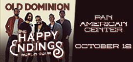 Old Dominion Oct. 12 at Pan Am Center