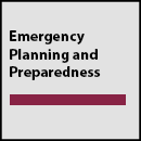 Emergency Planning and Preparedness