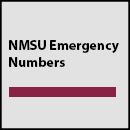 NMSU Emergency Numbers
