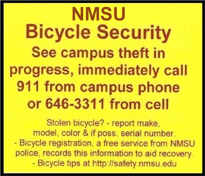 NMSU-Bicycle-Security