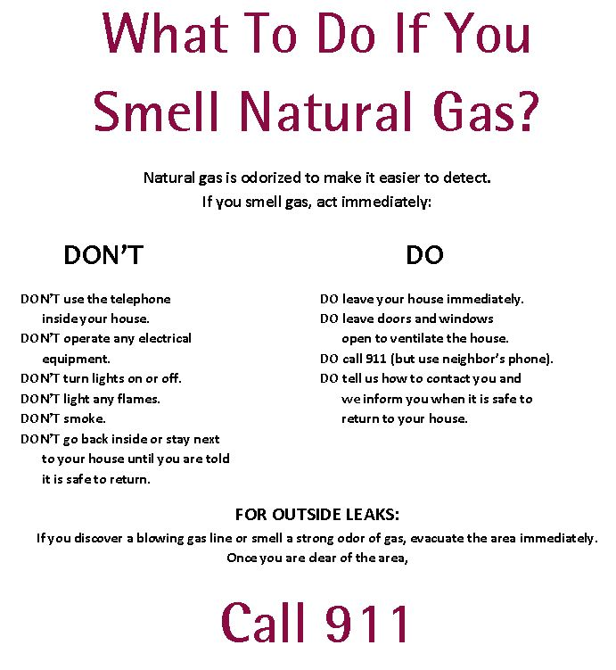How Does Natural Gas Get To My Home